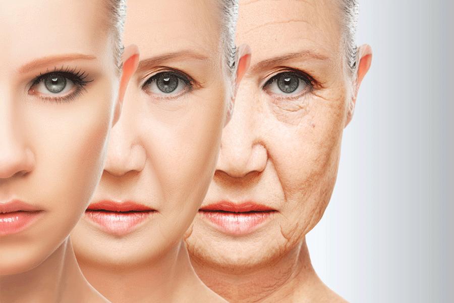 Lão hóa da mặt theo thời gian không thể tránh khỏi