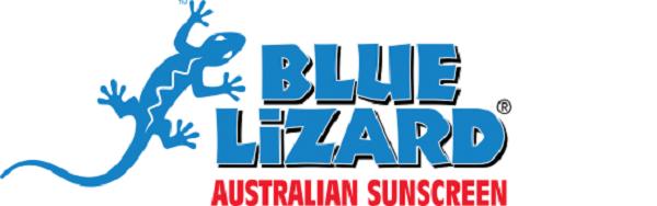 Thương hiệu của kem chống nắng với hình nổi bật của thằn lằn xanh