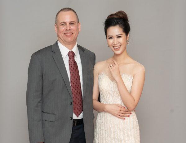 Brian Will cùng hoa hậu Dương Thùy Linh – Khách hàng nổi tiếng của TaTa