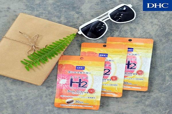 Viên uống chống nắng DHC Super H2