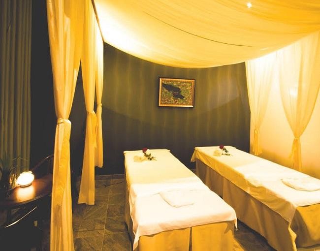 Phòng trị liệu thư giãn tại Dáng Ngọc spa