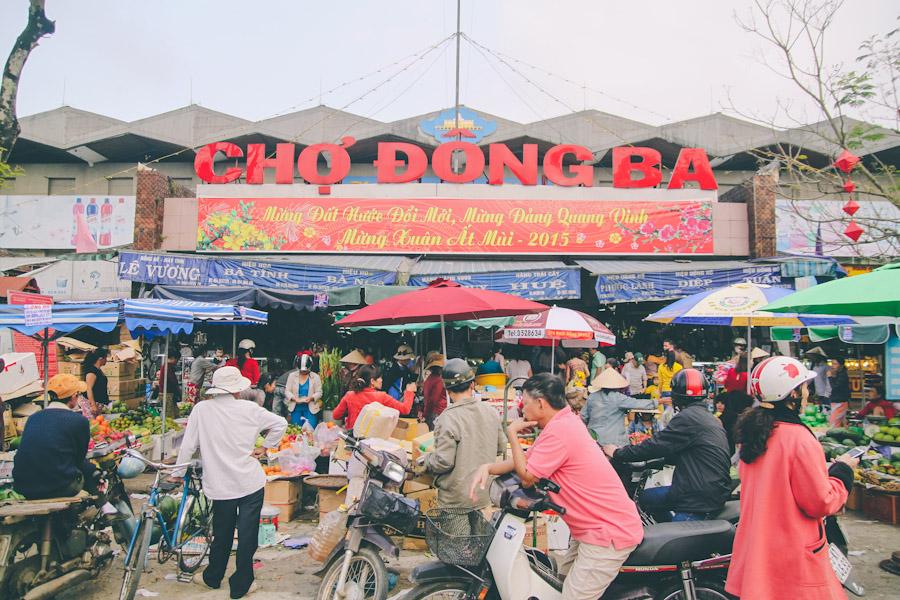 cho Dong Ba Hue