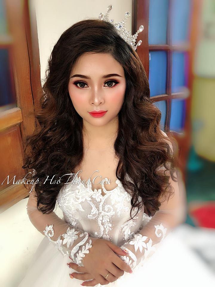Makeup Cao Hai - tiem trang diem co dau o Nha Trang