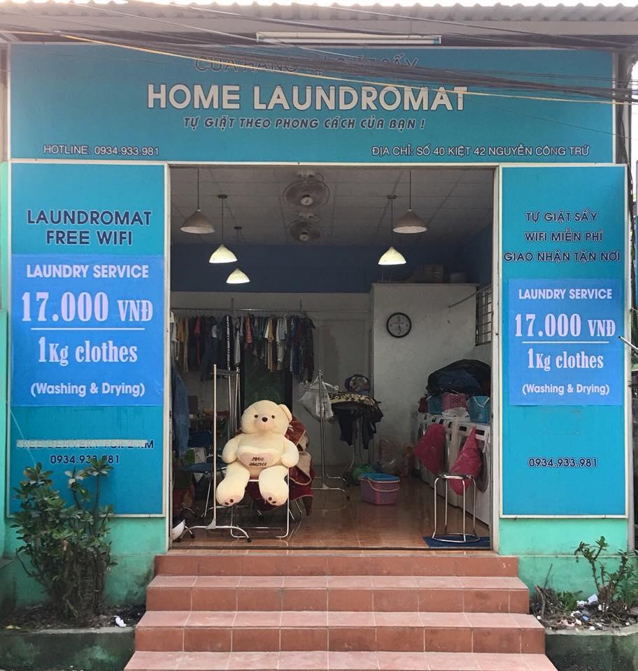 Cua hang giat say tu dong home Laundromat Hue