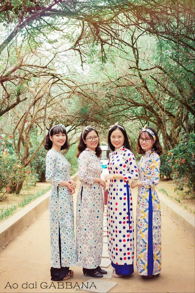 Áo dài Gabbana