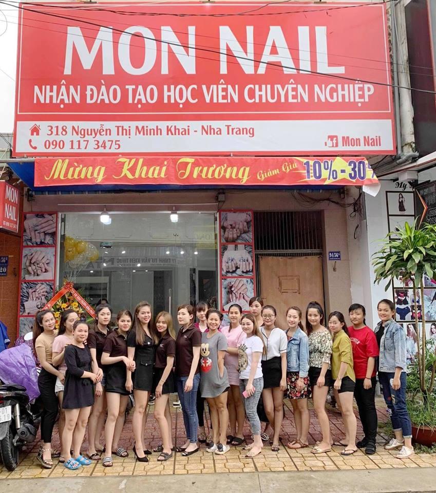 Mon Nail - tiem nail o Nha Trang