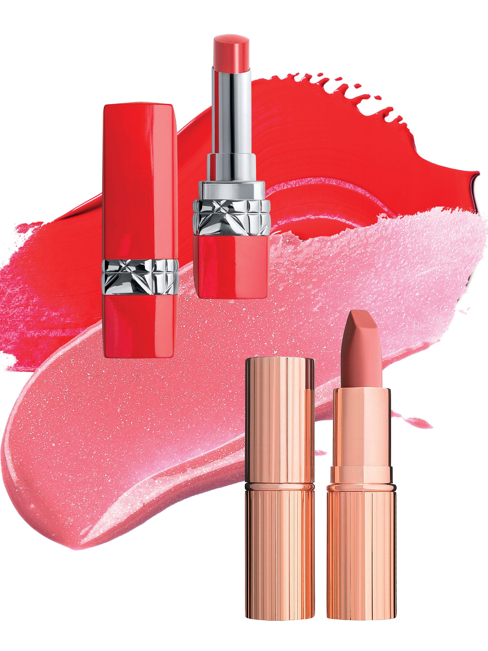 Charlotte Tilbury cũng làm mới màu son môi no.1 của cô: Pillow Talk trong phiên bản Diamonds Lipstick sáng lấp lánh như kim cương.