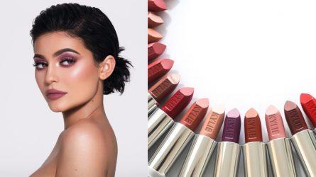 """20 màu son Kylie Jenner mới lại gây """"bão"""" cộng đồng làm đẹp"""