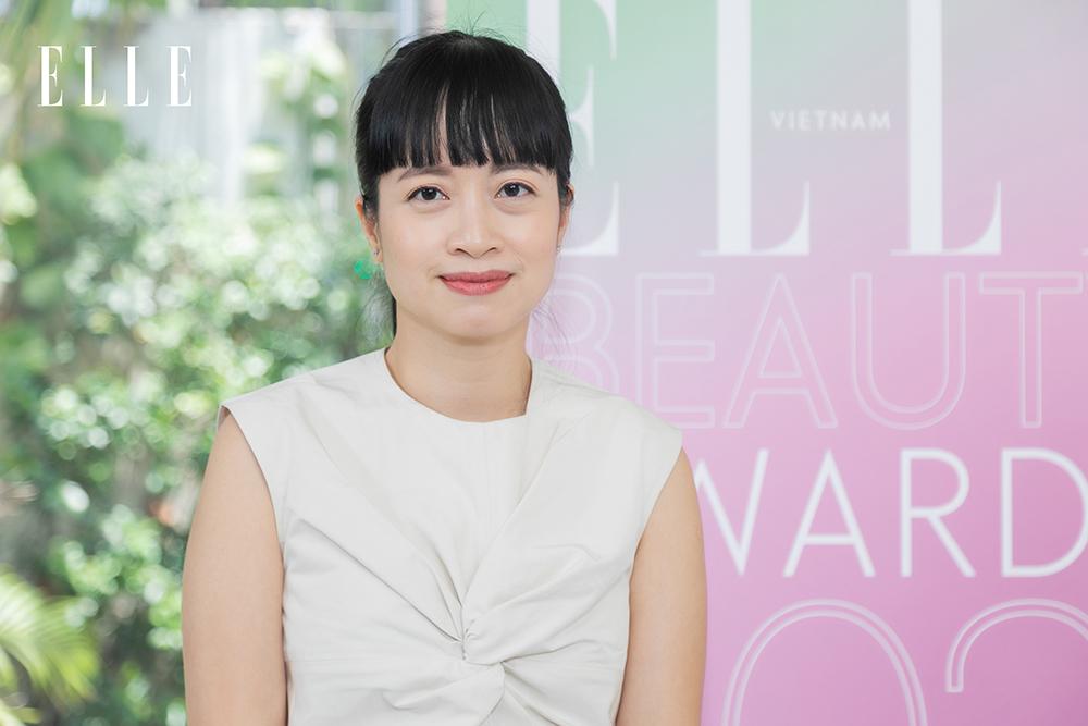 Ban cố vấn ELLE Beauty Awards 2021 - Giám đốc Nội dung Liên Chi Nguyễn